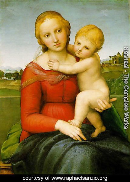 Raphael - Madonna & Child (The Small Cowper Madonna) 1505
