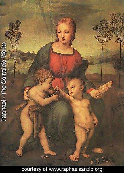 Raphael - Madonna of the Goldfinch (Madonna del Cardellino) 1505-06