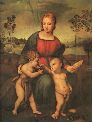 Madonna of the Goldfinch (Madonna del Cardellino) 1505-06