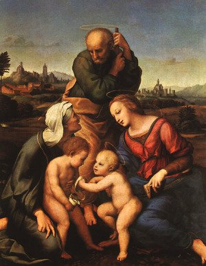 Raphael - The Canigiani Holy Family 1507