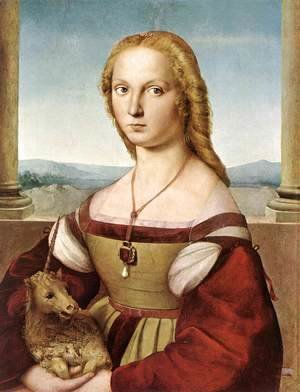 Raphael - The Woman with the Unicorn 1505