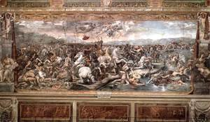 Raphael - The Battle at Pons Milvius