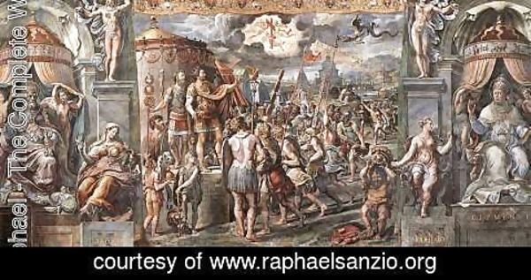 Raphael - Vision of the Cross