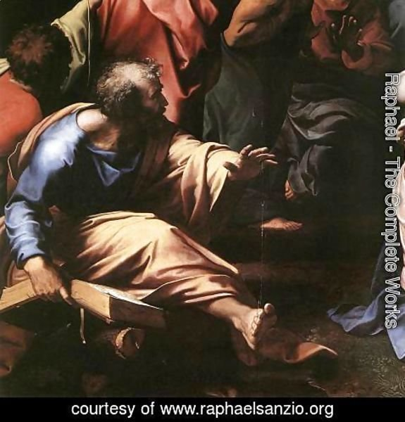 Raphael - The Transfiguration [detail: 1]