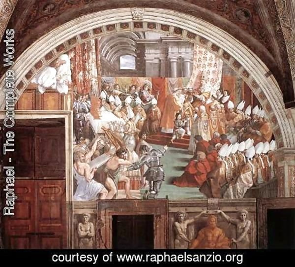 Raphael - The Coronation of Charlemagne