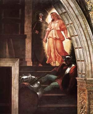 Raphael - The Liberation of St Peter [detail: 3]