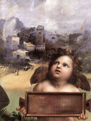 Raphael - The Madonna of Foligno [detail: 1]