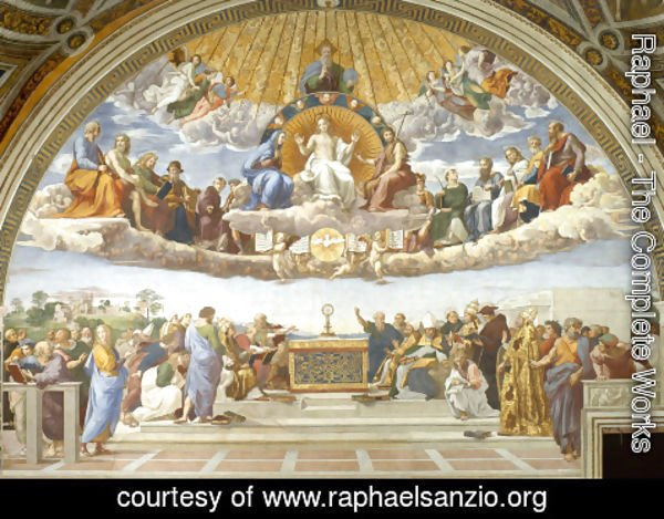 Raphael - Disputation of the Holy Sacrament (La Disputa)