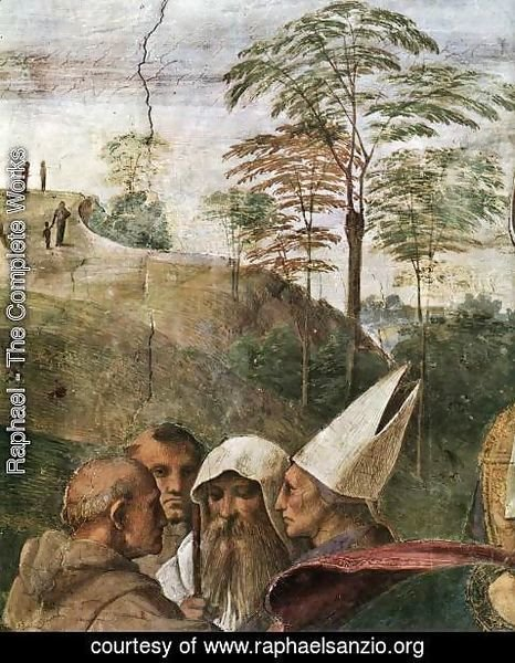 Raphael - Disputation of the Holy Sacrament (La Disputa) [detail: 4]