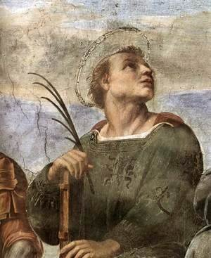 Raphael - Disputation of the Holy Sacrament (La Disputa) [detail: 5]