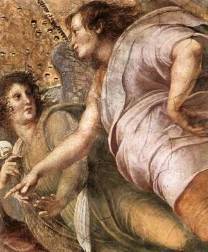 Raphael - Disputation of the Holy Sacrament (La Disputa) [detail: 6]