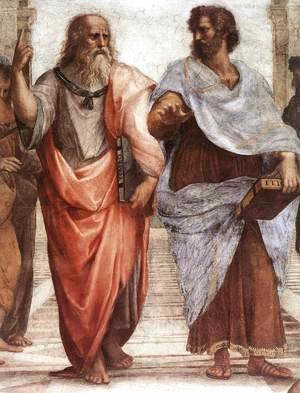 The School of Athens [detail: 1]
