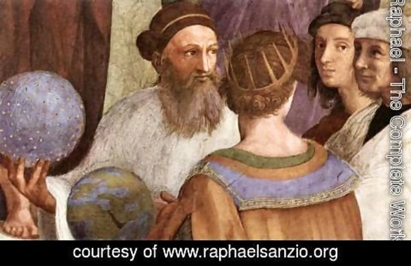 Raphael - The School of Athens [detail: 6]