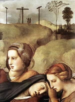 Raphael - The Entombment [detail: 1]