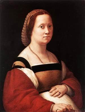 Raphael - Portrait of a Woman (La Donna Gravida)