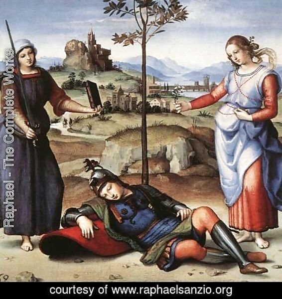 Raphael - Allegory (or The Knight's Dream)