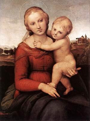 Raphael - Madonna and Child (or The Small Cowper Madonna)