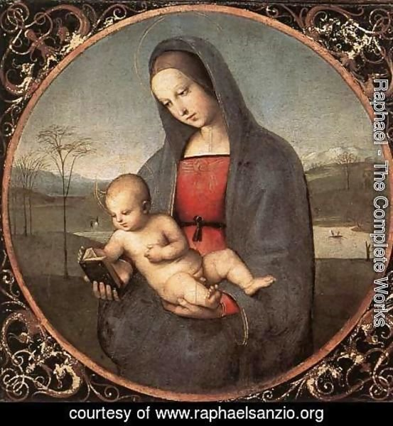 Raphael - Madonna with the Book (or Connestabile Madonna)