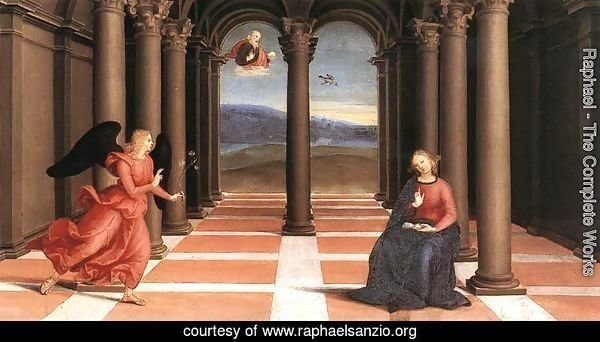 The Annunciation (Oddi altar, predella)