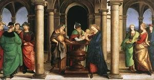 Raphael - The Presentation in the Temple (Oddi altar, predella)