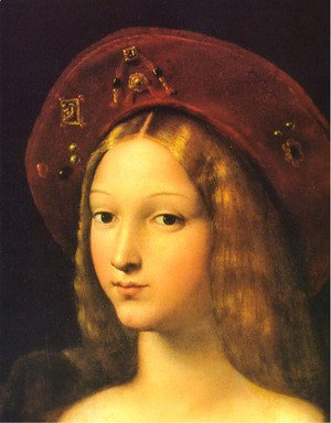 Raphael - Joanna of Aragon [detail]