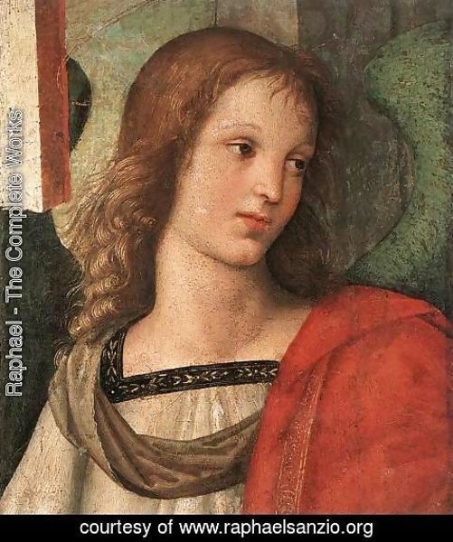 Raphael - Angel (fragment of the Baronci Altarpiece)