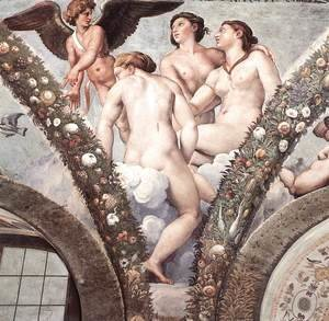 Raphael - Cupid and the Three Graces