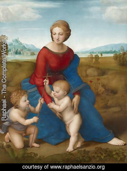 Raphael - Madonna of the Meadow
