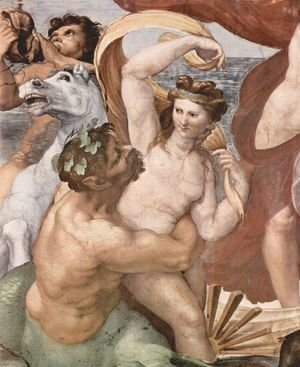 Raphael - The Triumph of Galatea (detail 2)