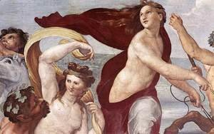 Raphael - The Triumph of Galatea (detail) 1