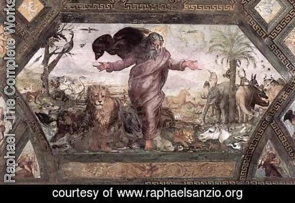Raphael - The Creation of the Animals