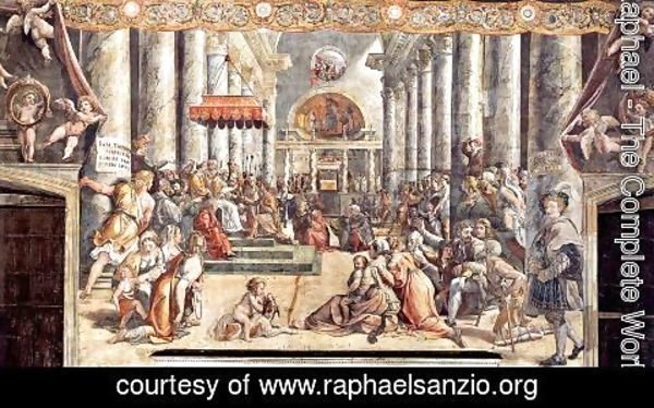 Raphael - The Donation of Constantine