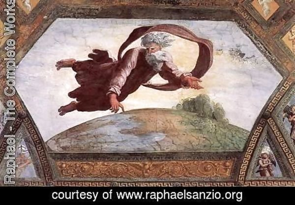 Raphael - The Separation of Land and Water