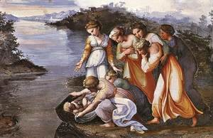 Raphael - Moses Saved from the Water