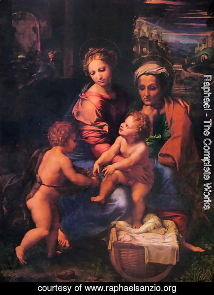 Raphael - The holy family 2