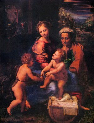 The holy family 2