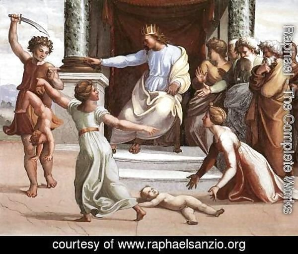 Raphael - The Judgment of Solomon