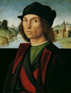 Raphael - Portrait of a Man 1502 1504