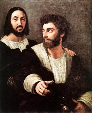 Self Portrait With A Friend 1517-1519
