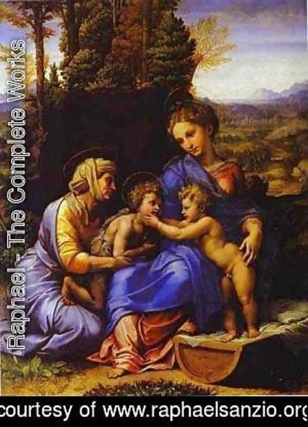 The Holy Family Known As Little Holy Family
