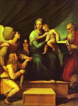 Raphael - The Madonna Of The Fish 1513