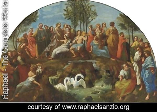Raphael - Apollo and the Muses on the Parnassus