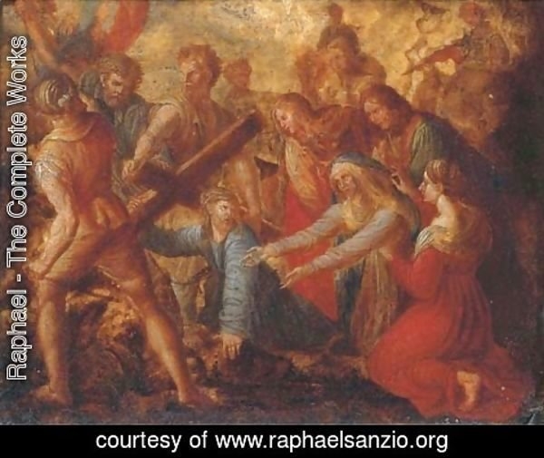 Raphael - Christ on the Way to Calvary