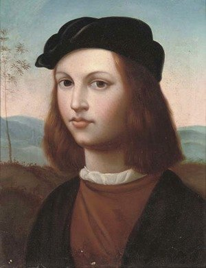 Raphael - Self-portrait of the artist