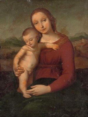 Raphael - The Madonna and Child 2