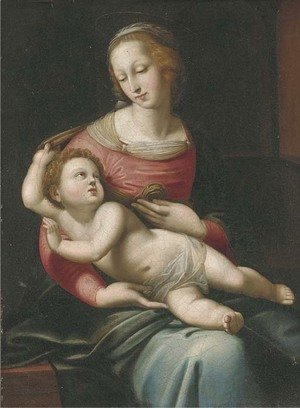 Raphael - The Madonna and Child 3
