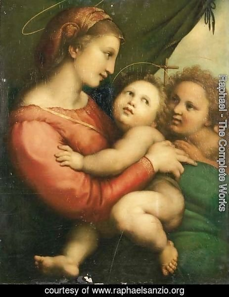 The Madonna and Child with the Infant Saint John the Baptist 2