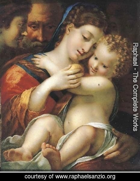 Raphael - The Madonna and Child 4