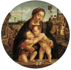 Raphael - Madonna and Child with the infant Saint John the Baptist