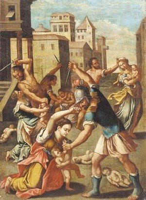 Raphael - The Massacre of the Innocents